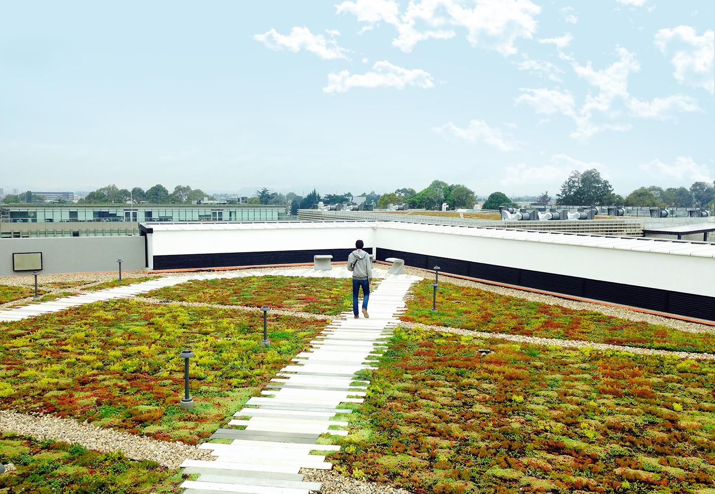 La sostenibilidad empieza por el tejado