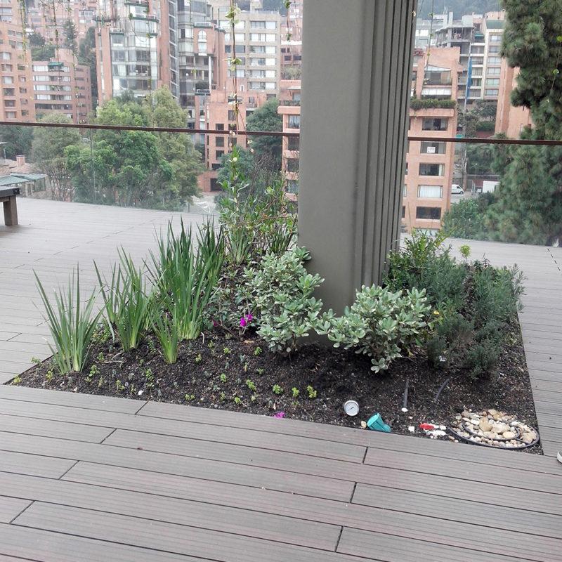 Imagen 5 proyecto apartamento privado rosales - techo verde