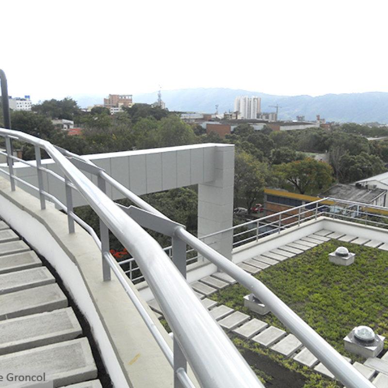 Imagen proyecto uis - muro verde